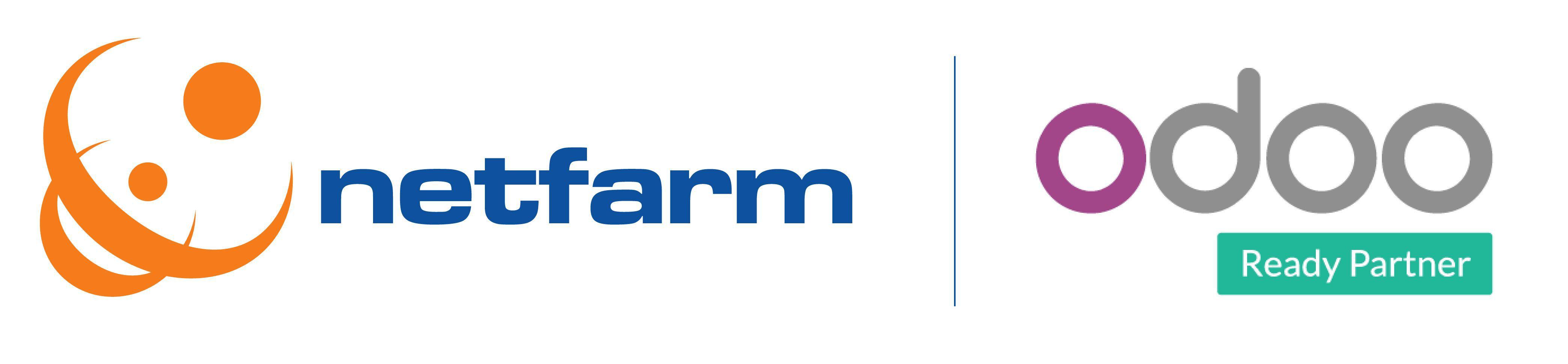 logo Netfarm partner Odoo